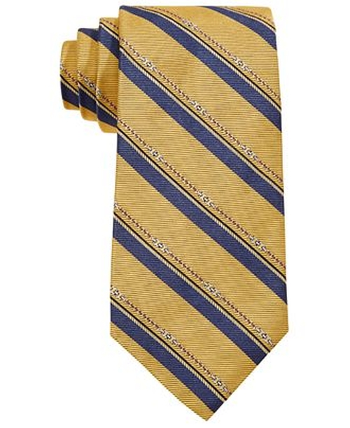 Horsebit Stripe Tie by Brooks Brothers in The Good Wife - Season 7 Episode 8