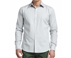 Check Sport Shirt by Theory in Ballers