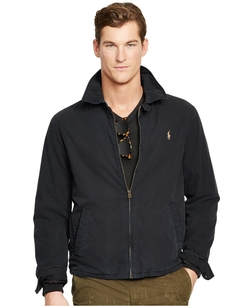 Poplin Windbreaker Jacket by Polo Ralph Lauren in How To Get Away With Murder