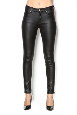 Crackle Skinny Leather Pants by 7 For all Mankind in Keeping Up With The Kardashians