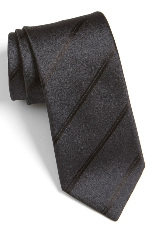 Stripe Silk Tie by Hugo in The Blacklist - Season 3 Episode 10