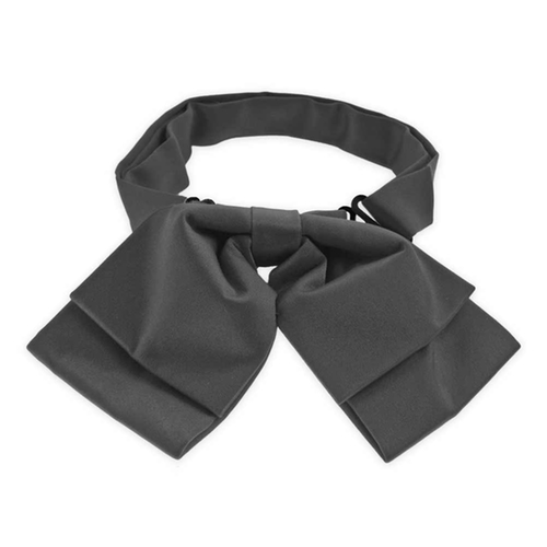 Deep Gray Floppy Bow Tie by Tiemart in Elementary - Season 4 Episode 13