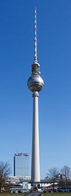 Berlin, Germany by Fernsehturm Berlin in Unfinished Business