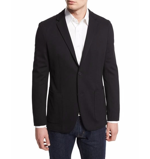Tobius Harvel Sport Coat by Theory in Office Christmas Party