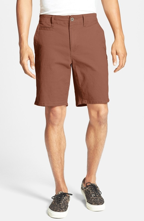 'Sayo' Twill Shorts by RVCA in Maze Runner: The Scorch Trials