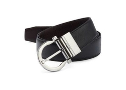 Grained Leather Belt by Salvatore Ferragamo in Lethal Weapon