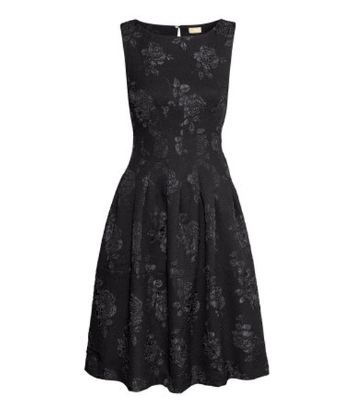 Brocade Dress by H&M in If I Stay