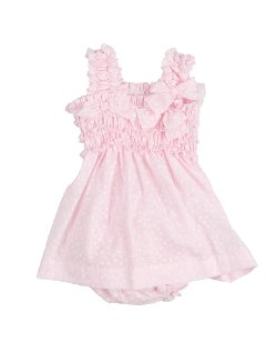 Girls' Frilled Dress by Aletta in Black or White