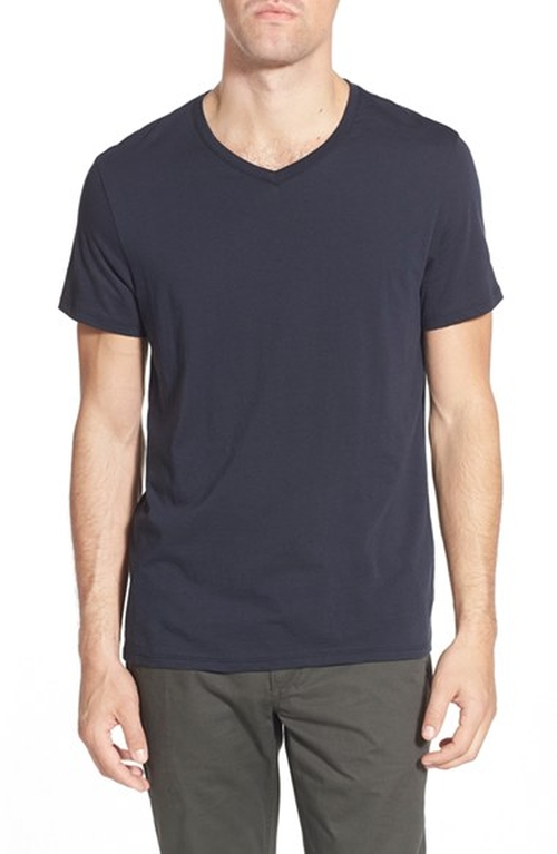 'Bruce' V-Neck T-Shirt by Slate & Stone in New Girl - Season 5 Episode 6