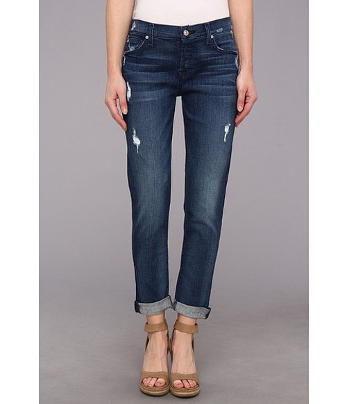 Skinny Boyfriend With Rolled Hem Jeans by 7 For All Mankind in The Boy Next Door