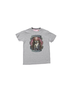 Printed T-Shirt by Pets Rock in Boyhood