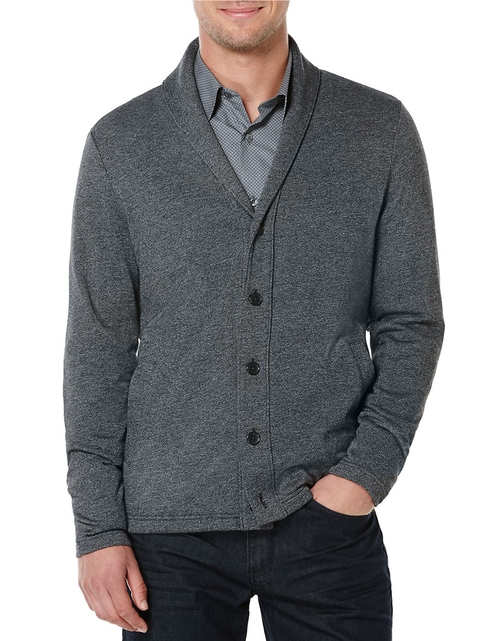 Button-Front Cardigan by Perry Ellis in The Vampire Diaries - Season 7 Episode 3