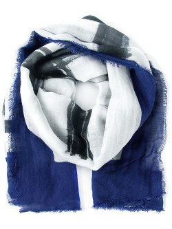 Abstract Print Scarf by Faliero Sarti in Need for Speed