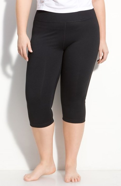 Plus Size 'Live In' Capris by Zella in Pitch Perfect 2