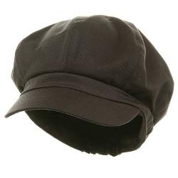 Big Size Cotton Newsboy Hat by E4hats in Unbroken