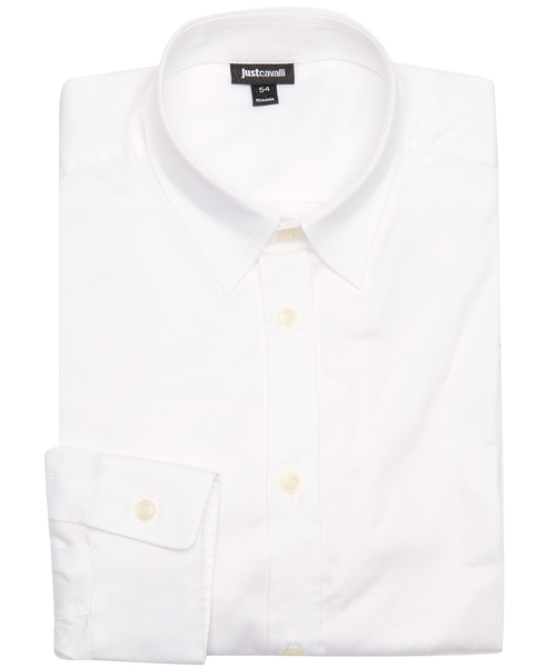 Textured Point Collar Dress Shirt by Just Cavalli in The Departed