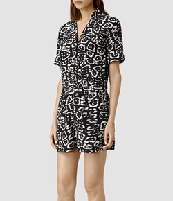 Jada Felix Playsuit by All Saints in Elementary