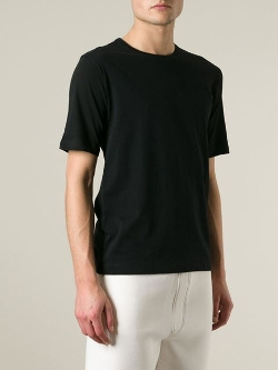 Crew Neck T-Shirt by Issey Miyake Men in Dope