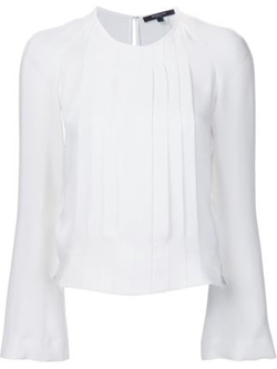 Pleated Chest Top by Derek Lam in Suits