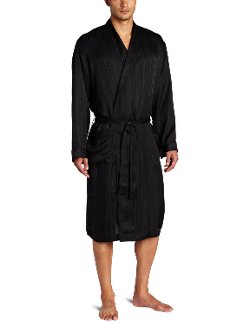 Herringbone Stripe Jacquard Shawl Robe by Majestic International in The Man from U.N.C.L.E.