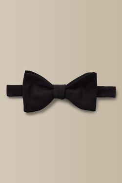 Sized Silk Bowtie by Hackett London in Me Before You