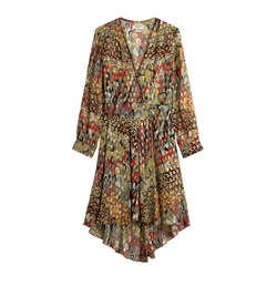 Printed Silk Dress by Zadig & Voltaire in Gypsy