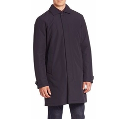 Microtene Padded Long Sleeve Raincoat by Z Zegna in The Blacklist