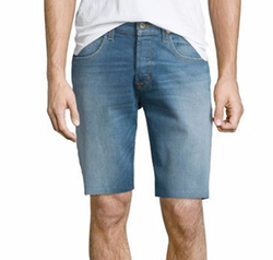 Hess Straight-Leg Cutoff Denim Shorts by Hudson Jeans in Mr. Robot