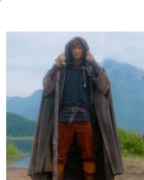 Custom Made Cloak (Tom Ward) by Jacqueline West (Costume Designer) in Seventh Son