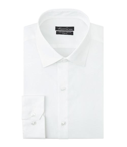 Slim-Fit Spread-Collar Dress Shirt by Kenneth Cole in Transcendence
