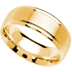 Comfort Fit Wedding Band Ring by Kobelli in Vacation