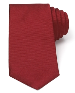 Solid Rib Classic Tie by Turnbull & Asser in The Proposal