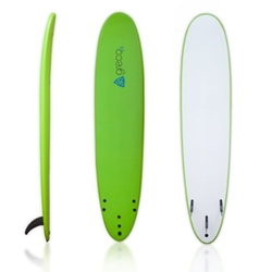 Soft Top Foamboard Long Surfboard by Greco Surf in Point Break