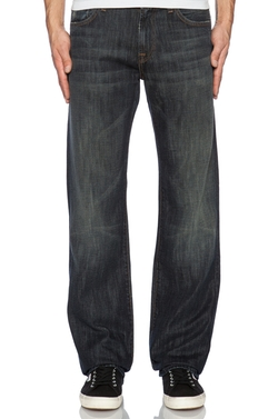 Montana Wash Denim Pants by 7 For All Mankind in Ride Along 2