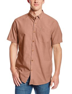 Men's All Day Short Sleeve Woven Shirt by Billabong in If I Stay