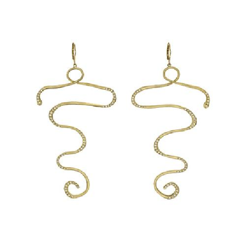 Cleopatra Earrings by Wendy Brandes in Sex and the City 2