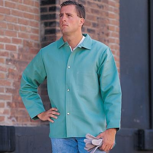 Sateen Flame-Resistant Jacket by Chicago Protective Apparel in Fantastic Four