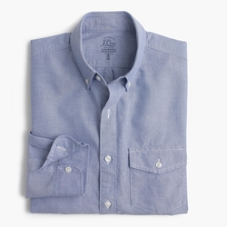 Slim Lightweight Vintage Oxford Cloth Shirt by J.Crew in Modern Family