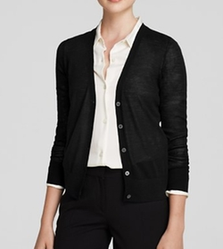 Wool Cardigan Sweater by Theory in The Boss