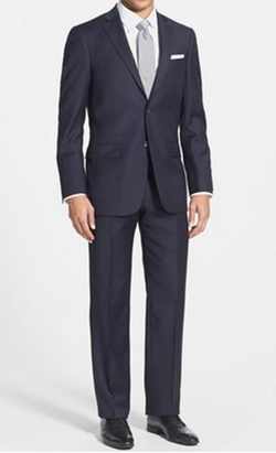 'New York' Classic Fit Wool Suit by Hart Schaffner Marx in Scandal