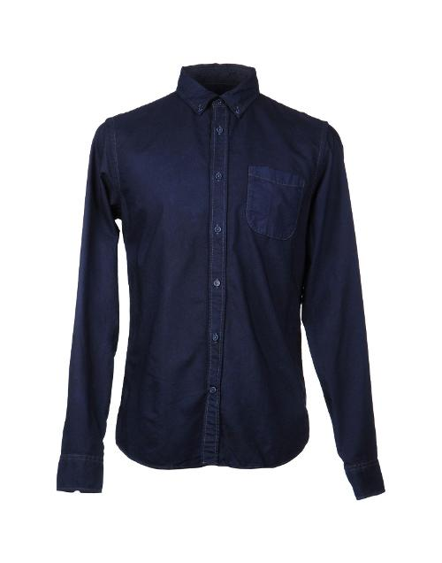 Men's Denim Shirt by M. Grifoni Denim in Ride Along