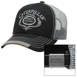 Script Trucker Cap by Caterpillar in Transformers: The Last Knight