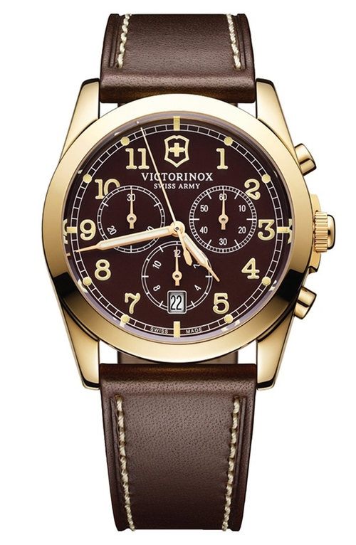 Infantry Chronograph Watch by Victorinox Swiss Army in Barbershop: The Next Cut