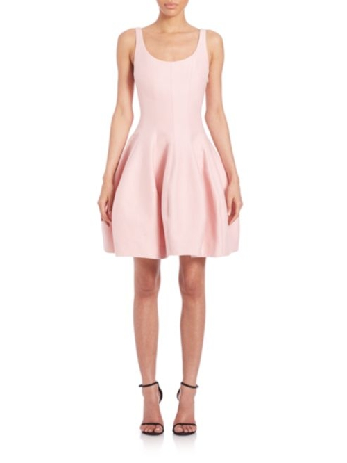 Faille Tulip Dress by Halston Heritage in Dirty Dancing