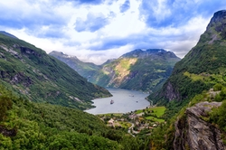 Stranda, Norway by Geirangerfjord in Ex Machina