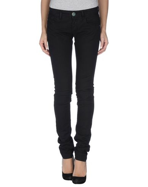 Skinny Denim Pants by Pinko Grey in Pretty Little Liars - Season 6 Episode 2