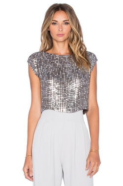 Presley Sequin Top by MLV in XOXO