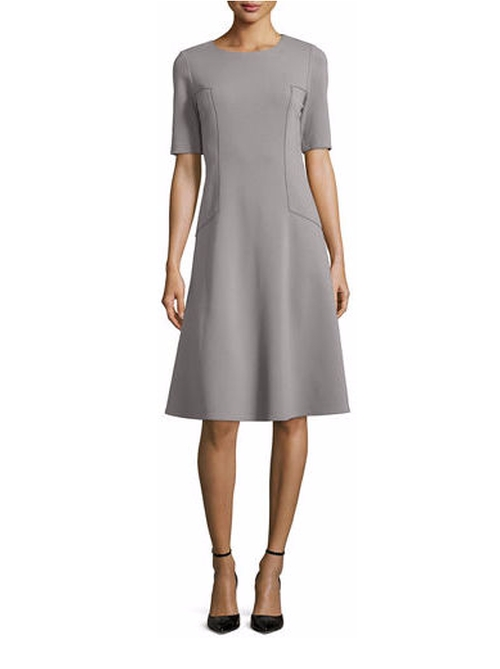 Corey Half-Sleeve Fit & Flare Dress by Lafayette 148 New York in Suits