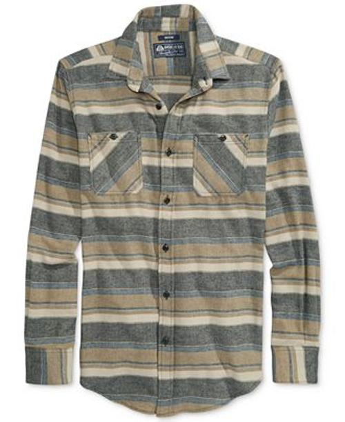 Striped Flannel Shirt by American Rag in Mean Girls