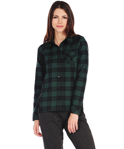 Buffalo Plaid Shirt by RD Style in Crazy, Stupid, Love.